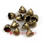 Pendant Scarf Accessories Bronze Metal Scarf Caps AC0244A