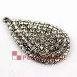 Rhinestones Water Drop DIY Jewelry Scarf Charming Pendant AC0316