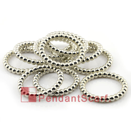 Acrylic plastic large size pendant scarf jewellery silver rings ac0109 mozeypictures Choice Image